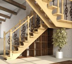 лестница в дом на заказ в воронеже